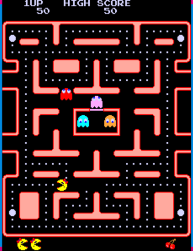 _Ms. Pac-Man arcade