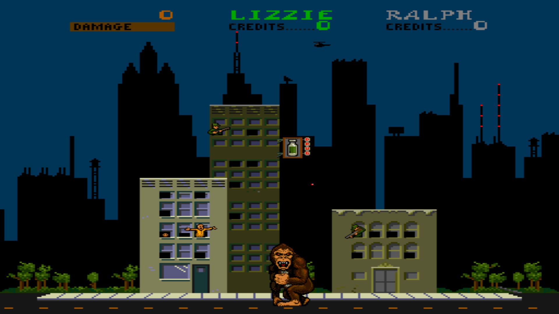 Rampage mame rom   Any working version of Rampage for MAME